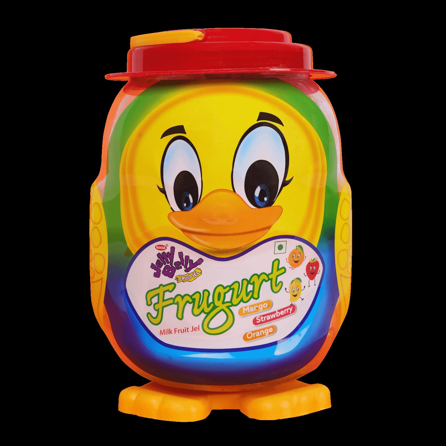 Jelly Belly Frugurt Milk Fruit Jel (Duck)