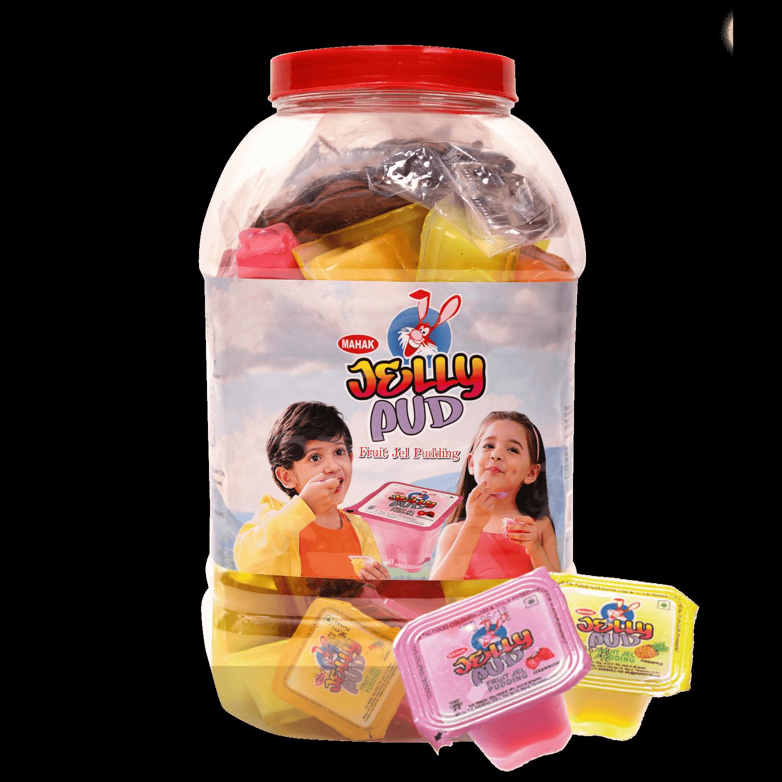 Mahak Jelly Pud Fruit Jel Pudding