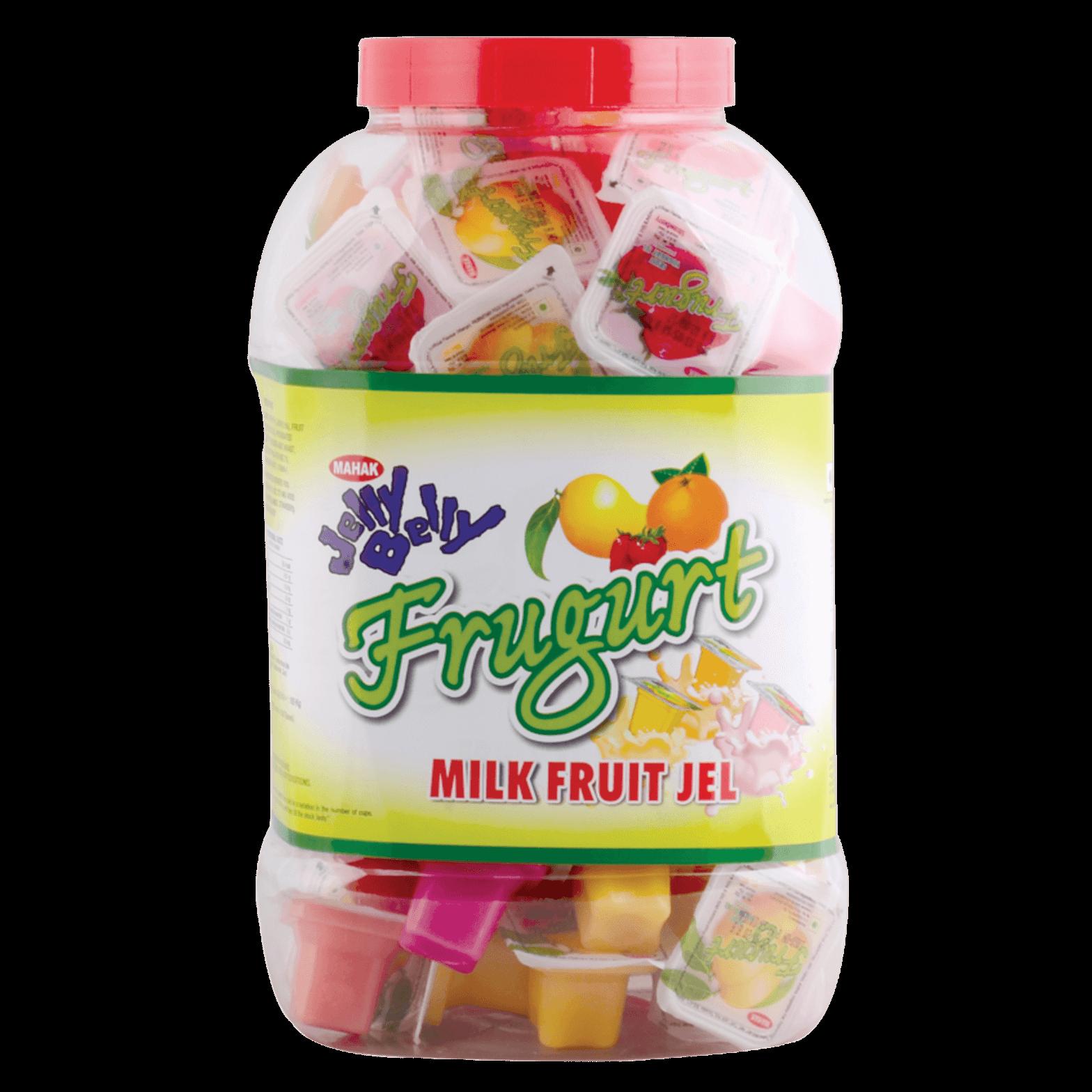 Mahak Jelly Belly Frugurt Milk Fruit Jel