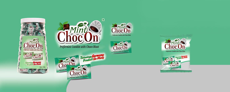 Mint Chocon Candy